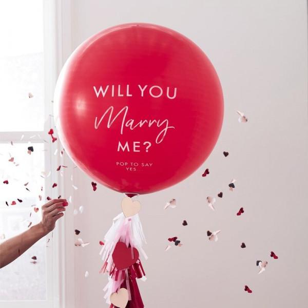 """Ballon """"Heiratsantrag"""""""
