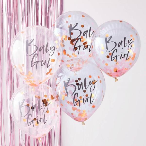 Baby Ballon Rosa