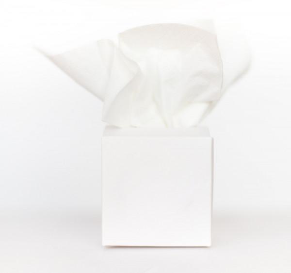 100 Freudentränen Boxen weiß