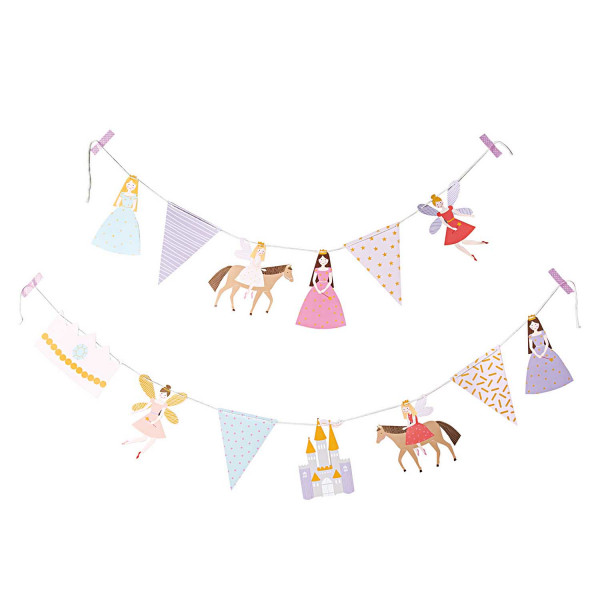 Prinzessin Girlande Geburtstag