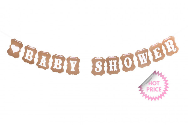 Baby Shower Girlande | for Girls
