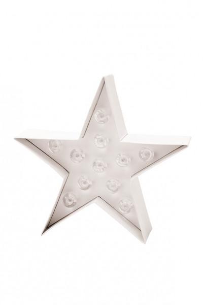 Leuchtbuchstabe LED Stern