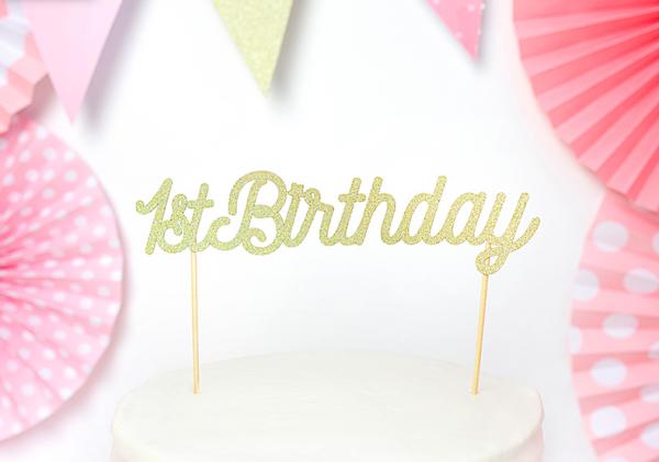 1st Birthday Caketopper