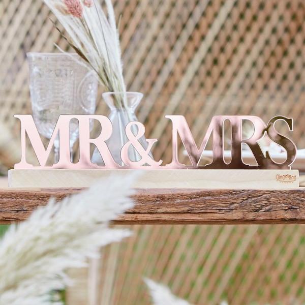 Mr & Mrs Schild Kupfer