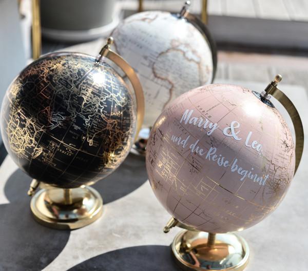 Gästebuch Globus