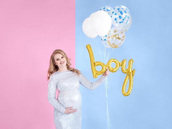 Baby Boy Ballon | Gold