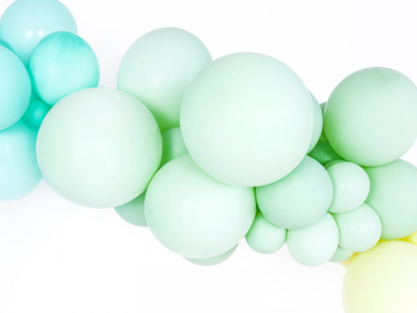 Pastell Ballons Mint 10er set