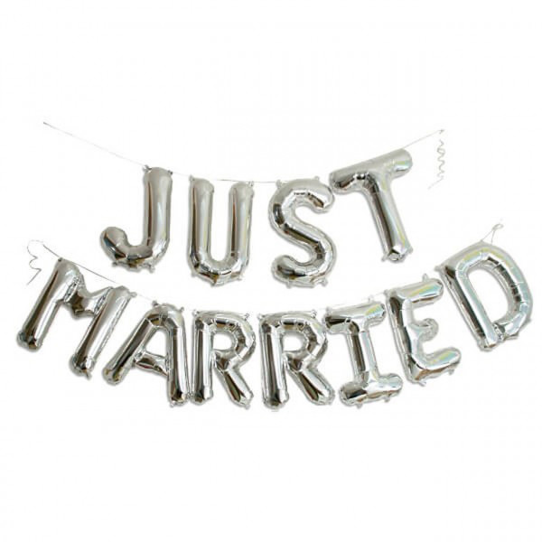 Just Married Girlande