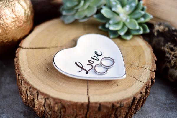 Ring Schale | Ringkissen Hochzeit