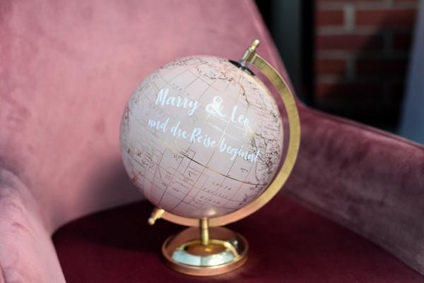 Gästebuch Globus | Hochzeitsgeschenk