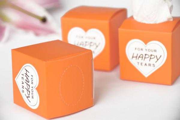 50 Freudentränen orange |DIY