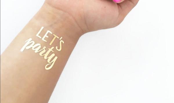 Tattoo gold